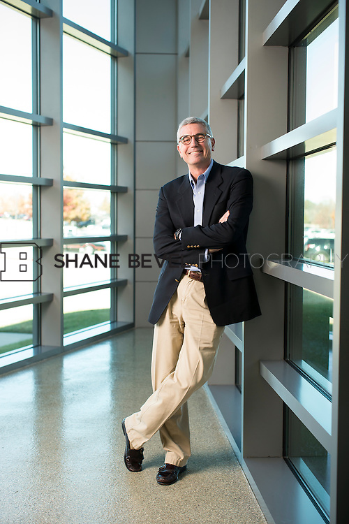 11/24/14 2:12:40 PM --- Tyson CEO Donnie Smith poses for portraits at the Tyson headquarters building in Springdale, Arkansas. <br /> <br /> Photo by Shane Bevel