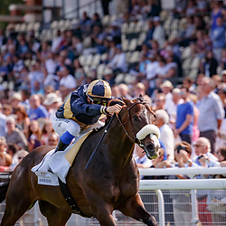 Sings Of Blessing (S. Pasquier) wins Prix De Meautry Barriere Gr.3 in Deauville , France 27/08/2017, photo: Zuzanna Lupa