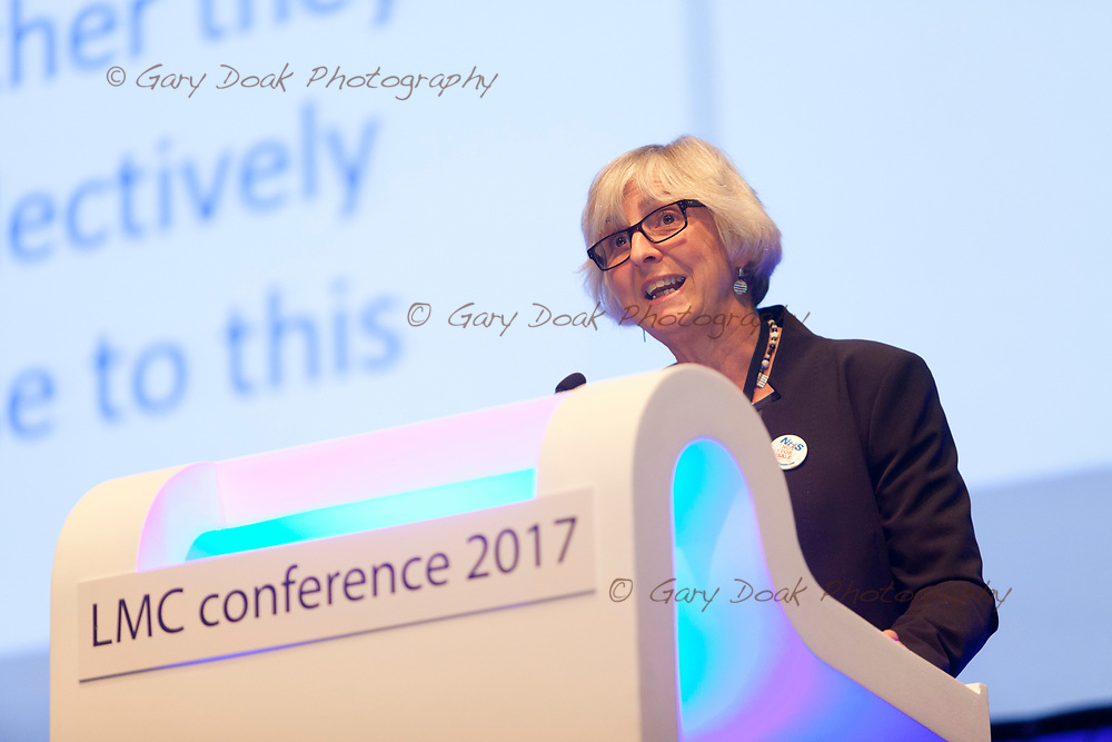 Jackie Applebee<br /> BMA LMC's Conference<br /> EICC, Edinburgh<br /> <br /> 18th May 2017<br /> <br /> Picture by Gary Doak