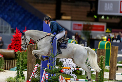 MUFF Werner (SUI), Jazoe van 'T Steenpaal<br /> Genf - CHI Geneve Rolex Grand Slam 2019<br /> Prix Radio Lac<br /> Internationales Springen Fehler/Zeit<br /> International Jumping Competition 1m40<br /> Table A: Against the Clock<br /> 12. Dezember 2019<br /> © www.sportfotos-lafrentz.de/Stefan Lafrentz