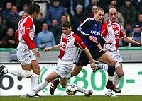 BRUGGE BRUGES 08/02/2004<br /> SPORT - VOETBAL - FOOTBALL /<br /> CLUB BRUGGE - ANTWERP /<br /> FC BRUGES - ANVERS /<br /> RUNE LANGE /<br /> PICTURE BY JIMMY BOLCINA /<br /> COPYRIGHT PHOTO NEWS /