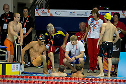 View  at 2015 IPC Swimming World Championships -  Getting out of pool