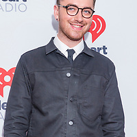 LAS VEGAS - SEP 18 : Recording artist Sam Smith attends the 2015 iHeartRadio Music Festival at the MGM Grand Garden Arena on September 18, 2015 in Las Vegas.