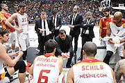Time out Galatasaray, EA7 Emporio Armani Milano vs Galatasaray Odeabank Istanbul, EuroLega 2016/2017, Mediolanum Forum Milano 19 gennaio 2017