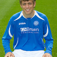 St Johnstone FC...Season 2011-12<br /> Murray Davidson<br /> Picture by Graeme Hart.<br /> Copyright Perthshire Picture Agency<br /> Tel: 01738 623350  Mobile: 07990 594431