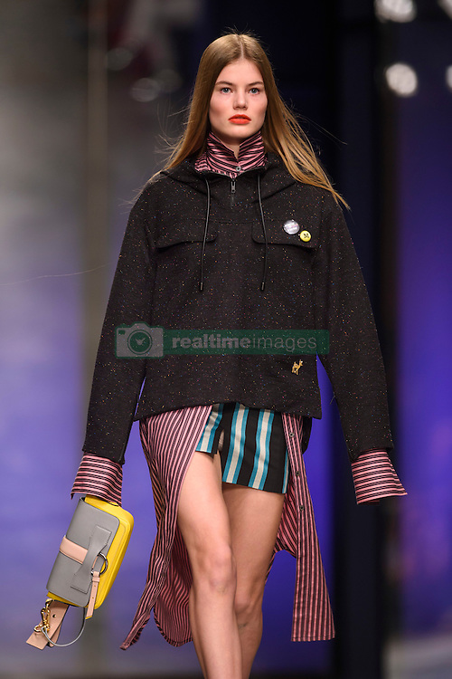Models on the catwalk during the Topshop Unique Autumn/Winter 2017 London Fashion Week show at Tate Modern, London. PRESS ASSOCIATION Photo. Picture date: Sunday February 19th, 2017. Photo credit should read: Matt Crossick/PA Wire.