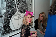 SOPHIE COBBOLD; SOPHIA AKROYD, Lulu Guinness And Rob Ryan Fan Bag - Launch Party. Air Gallery. London. 10 November 2010.  -DO NOT ARCHIVE-© Copyright Photograph by Dafydd Jones. 248 Clapham Rd. London SW9 0PZ. Tel 0207 820 0771. www.dafjones.com.