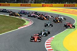 May 15, 2017 - Montmelo, Spanien - 170514 Sebastian Vettel, GER,  under Spaniens Grand Prix den 13 maj 2017 i Barcelona  (Credit Image: © Patrik Lundin/Bildbyran via ZUMA Wire)