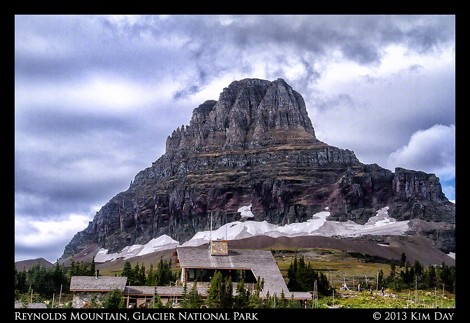 Reynolds Mountain - Logan's Pass<br /> Glacier National Park - Montana<br /> September 2013
