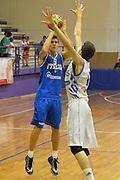 DESCRIZIONE : 6 Luglio 2013 Under 18 maschile<br /> Torneo di Cisternino Italia Grecia<br /> GIOCATORE : Vittorio Nobile<br /> CATEGORIA : <br /> SQUADRA : Italia Under 18<br /> EVENTO : 6 Luglio 2013 Under 18 maschile<br /> Torneo di Cisternino Italia Grecia<br /> GARA : Italia Under 18 Grecia<br /> DATA : 06/07/2013<br /> SPORT : Pallacanestro <br /> AUTORE : Agenzia Ciamillo-Castoria/GiulioCiamillo<br /> Galleria : <br /> Fotonotizia : 6 Luglio 2013 Under 18 maschile<br /> Torneo di Cisternino Italia Grecia<br /> Predefinita :