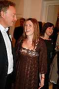 LOUISE WILSON, ZAC GERTLER  Art Plus Music party. Fundraiser for the Whitechapel. 30 March 2006. ONE TIME USE ONLY - DO NOT ARCHIVE  © Copyright Photograph by Dafydd Jones 66 Stockwell Park Rd. London SW9 0DA Tel 020 7733 0108 www.dafjones.com