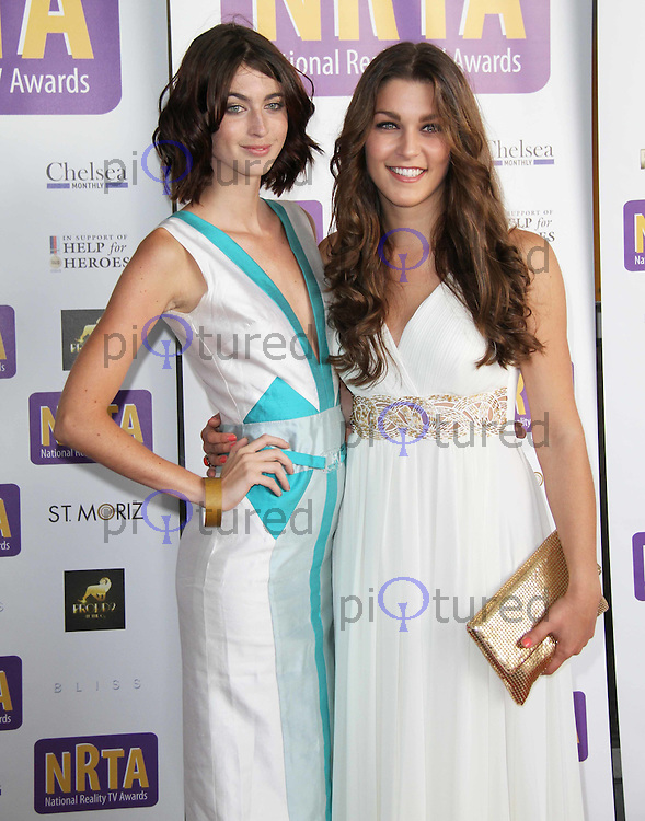 Charlotte Holmes; Tiffany Pissani National Reality TV Awards, The O2 Arena, London, UK, 06 July 2011:  Contact: Rich@Piqtured.com +44(0)7941 079620 (Picture by Richard Goldschmidt)