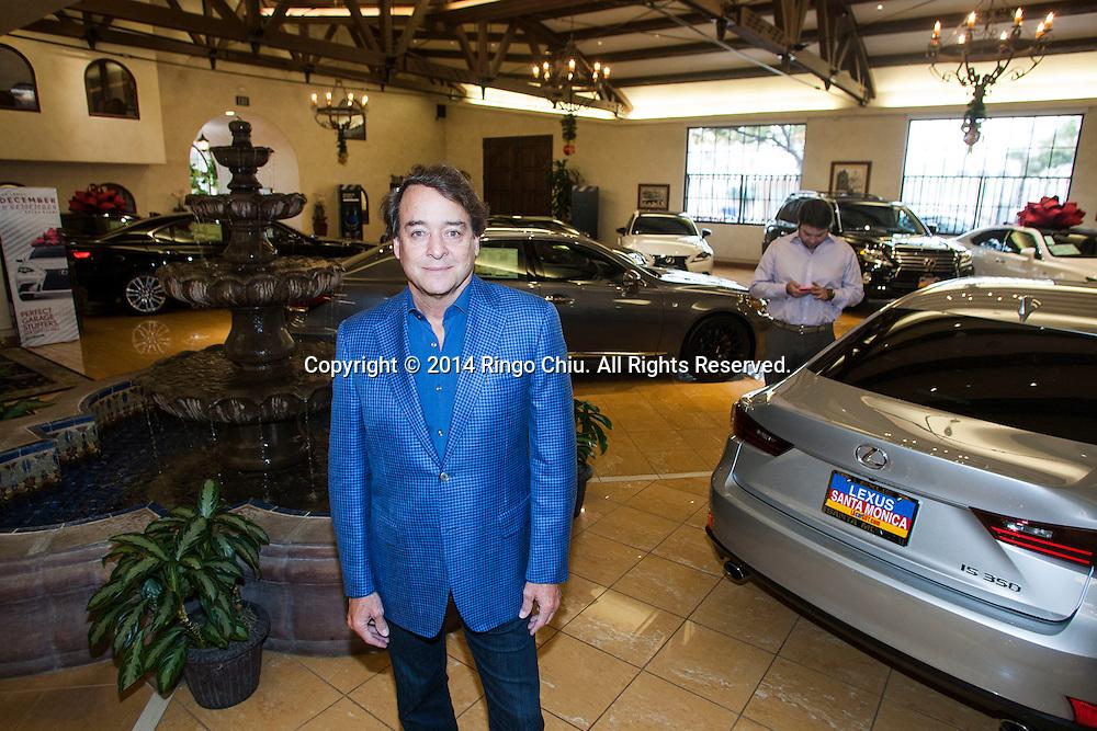 Mike Sullivan, CEO, L.A. Car Guy in Santa Monica.<br /> Photo by Ringo Chiu/PHOTOFORMULA.com)