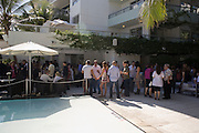 Collectors Brunch, Sagamore Hotel Miami Beach. Art Basel Miami Beach. 6 December 2008 *** Local Caption *** -DO NOT ARCHIVE -Copyright Photograph by Dafydd Jones. 248 Clapham Rd. London SW9 0PZ. Tel 0207 820 0771. www.dafjones.com