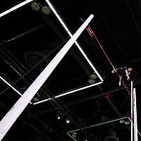 Renaud Lavillenie competes in the pole vault men final during the IAAF World Indoor Championships at Oregon Convention Center, in Portland, USA, on March 17, 2016 - Photo Philippe Millereau / KMSP / DPPI