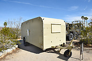 Custom Trailer for General Patton used at the Desert Training Center