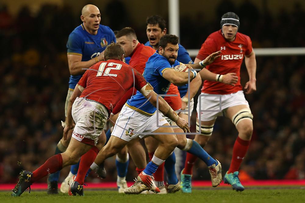 Cardiff 11/03/2018, Principality Stadium<br /> Natwest 6 nations 2018<br /> Galles vs Italia