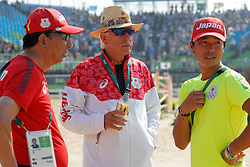 Schockemöhle, Paul (GER);<br /> Sugitani, Taizo (JPN) <br /> Rio de Janeiro - Olympische Spiele 2016<br /> © www.sportfotos-lafrentz.de