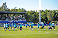 Equipe France - 01.06.2015 - Entrainement -Equipe de France -Clairefontaine<br /> Photo : Andre Ferreira / Icon Sport