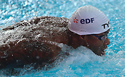 Mehdy Mettela (France) Vice European Champion 100 m Butterfly during the Swimming European Championships Glasgow 2018, at Tollcross International Swimming Centre, in Glasgow, Great Britain, Day 8, on August 9, 2018 - Photo Laurent Lairys / ProSportsImages / DPPI