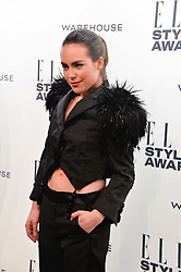 TALLULAH HARLECH at the 17th Elle Style Awards 2014 in association with Warehouse held at One Embankment, 8 Victoria Embankment, London on 18th February 2014.