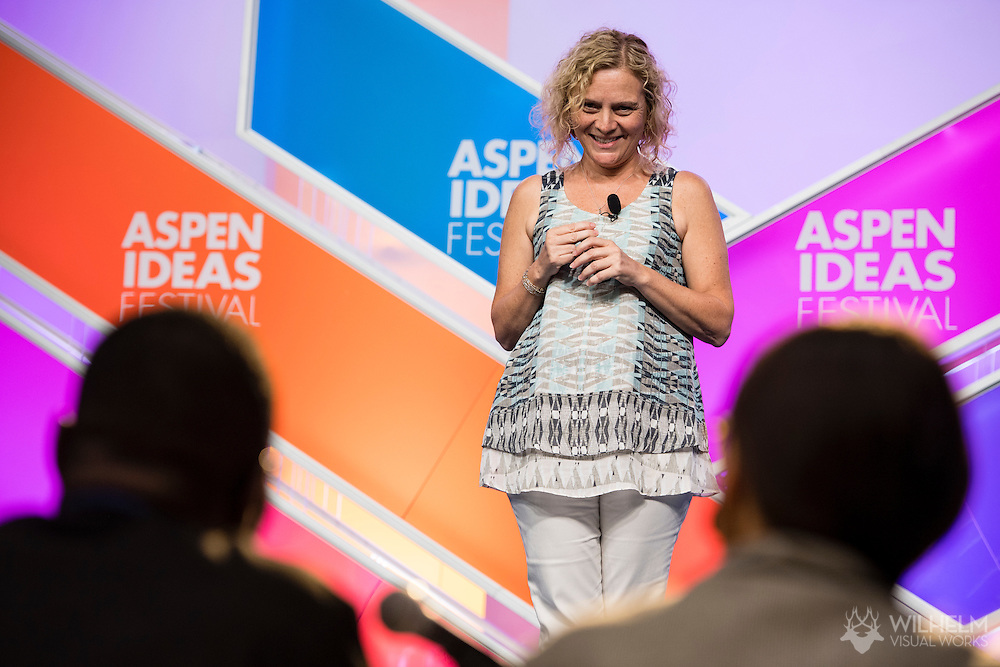 The Booz Allen Aspen Ideas Award during Spotlight Health at the 2016 Aspen Ideas Festival in Aspen, CO. ©Brett Wilhelm