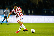 Danny Batth of Stoke City during the EFL Sky Bet Championship match between Sheffield Wednesday and Stoke City at Hillsborough, Sheffield, England on 22 October 2019.