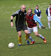 Riverside Plate (claret and light blue) v West End Athletic. (black) - Dundee Saturday Morning Football League at Drumgieth<br /> <br />  - &copy; David Young - www.davidyoungphoto.co.uk - email: davidyoungphoto@gmail.com