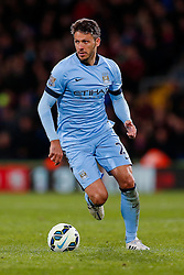 Martin Demichelis of Manchester City in action - Photo mandatory by-line: Rogan Thomson/JMP - 07966 386802 - 06/04/2015 - SPORT - FOOTBALL - London, England - Selhurst Park - Crystal Palace v Manchester City - Barclays Premier League.