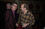 Griff Rhys Jones and Mel Smith. Hackney Empire Centenary Cabaret Celebration. 10 March 2001. © Copyright Photograph by Dafydd Jones 66 Stockwell Park Rd. London SW9 0DA Tel 020 7733 0108 www.dafjones.com