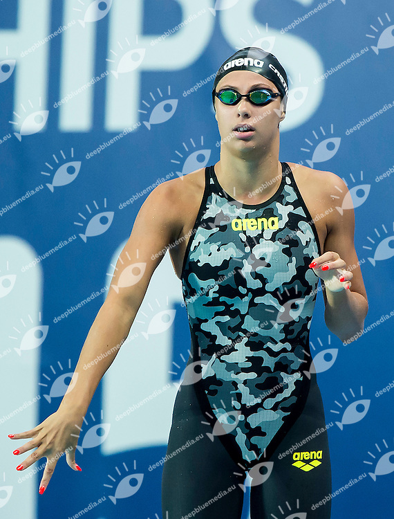 CASTIGLIONI Arianna ITA<br /> 50 Breaststroke Women Heats<br /> Swimming - Kazan Arena<br /> Day16 08/08/2015<br /> XVI FINA World Championships Aquatics Swimming<br /> Kazan Tatarstan RUS July 24 - Aug. 9 2015 <br /> Photo A.Masini/Deepbluemedia/Insidefoto