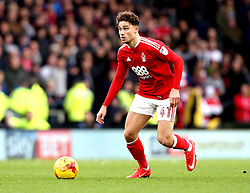 Matty Cash of Nottingham Forest - Mandatory by-line: Robbie Stephenson/JMP - 11/12/2016 - FOOTBALL - iPro Stadium - Derby, England - Derby County v Nottingham Forest - Sky Bet Championship