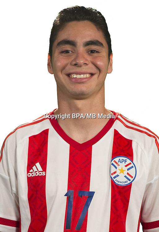 Football Conmebol_Concacaf - <br />Copa America Centenario Usa 2016 - <br />Paraguay National Team - Group A - <br />Miguel Angel Almiron