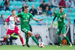 Andres Vombergar during football match between NK Olimpija Ljubljana and Aluminij in Round #9 of Prva liga Telekom Slovenije 2018/19, on September 23, 2018 in Stozice Stadium, Ljubljana, Slovenia. Photo by Morgan Kristan