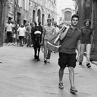 Palio di Siena in Monochrome