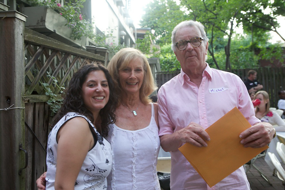 The staff of the Westmount YMCA host a barbecue to comemorate the volunteers that fill a number of positions at the centre. Awards and commendations were awarded for especially long-standing volunteers of 5, 10 and 20 years.