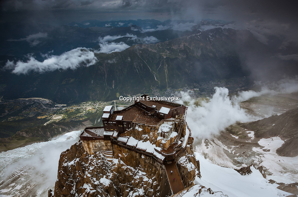 Peak perfection! Photographer snaps spectacular images showing the beauty of the French Alps from above<br /> <br /> The sun piercing a snow-covered landscape has been captured beautifully in these photos by Polish photographer Jakub Polomski.<br /> <br /> The intrepid traveller ascended the summit of Aiguille du Midi in the French Alps, a height of some 3,842m and often seen as a starting point before taking on Mont Blanc.<br /> <br /> And of course, his camera became useful once at the top.<br /> <br /> Speaking to boredpanda.com, Polomski said: 'You can easily get there by cable car. It was built in 1955 and for about two decades was claimed to be the highest cable car in the world.<br /> <br /> 'Aiguille du Midi is one of the best tourist attractions in French Alps. It is also a start point for mountain climbers who desire to climb Mont Blanc. <br /> <br /> 'I visited the place twice and experienced different weather conditions up there.'<br /> The first day of Polomski's challenge saw him experience agreeable conditions atop the Chamonix mountain, the weather was warm and sunny, with little wind.<br /> <br /> However the second day things took a turn for the worse, it snowed heavily and the wind picked up making it bitterly cold.<br /> <br /> Polomksi's love for the earth's beautiful and often mysterious landscape has seen him travel to Argentina and Chile, as well as Slovakia, France and Norway among others.<br /> <br /> He described his time viewing the Queens of Andes in Chile as 'the most beautiful national park,' while earlier this year he photographed one of the biggest glaciers in the world in Argentina, the Perito Moreno. <br /> ©Jakub Polomski/Exclusivepix
