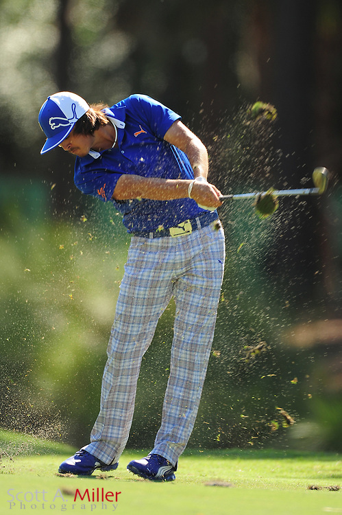 Rickie Fowler during the second round of the Players Championship at the TPC Sawgrass on May 11, 2012 in Ponte Vedra, Fla. ..©2012 Scott A. Miller..
