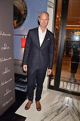 LONDON, ENGLAND 8 DECEMBER 2016: Mark Foster at the Omega Constellation Globemaster Dinner at Marcus, The Berkeley Hotel, Wilton Place, London England. 8 December 2016.