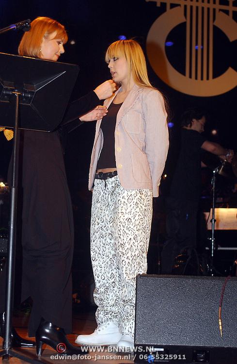 Harpengala 2003, Gouden Harp winnaar, Anouk Teeuwe
