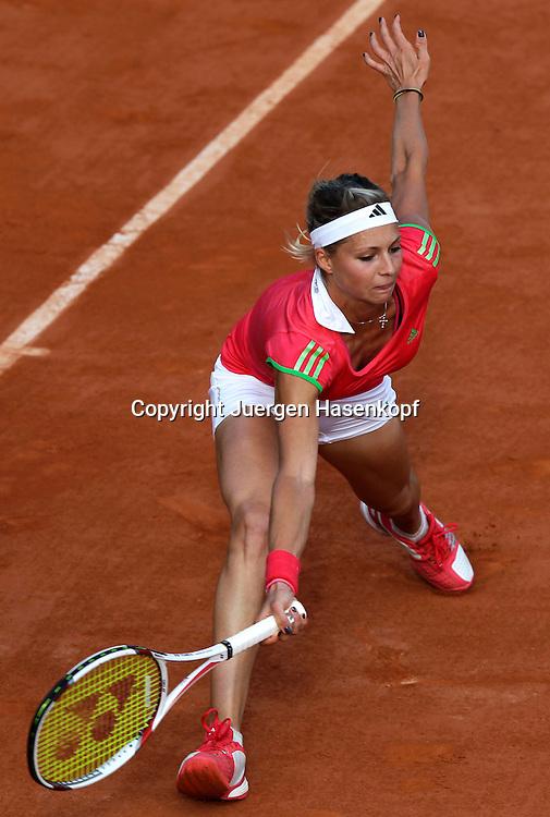 French Open 2011, Roland Garros,Paris,ITF Grand Slam Tennis Tournament ,Maria Kirilenko (RUS),.Einzelbild,Aktion,