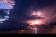 "Storm Chaser: Amazing photos that convey the awesome power and beauty of nature<br /> <br /> Storm chaser Mike Olbinski captures lightning, tornadoes and dramatic cloud formations in stunning images that convey the awesome power and beauty of nature.<br /> <br /> Photographer Mike Olbinski chases storms throughout his native Arizona and further afield, capturing lightning, tornadoes and dramatic cloud formations in images that convey the awesome power and beauty of nature. A new book, Storm Chaser, gathers 100 of his most breathtaking images. He says he had always been interested in storms and would travel thousands of miles every year, chasing the big supercells and tornadoes that appear on the central plains of the United States each spring. ""But in 2011 my life changed,"" he says, ""On 5 July I received a text with a photo of a dust storm rolling into the Phoenix area from the southeast. The day before I had just started practising time lapse photography and when I heard about a dust storm heading my way, I grabbed my gear and headed to a parking garage down the street. I thought that a time-lapse of a dust storm over the city would really give people an idea of how large these things can be.<br /> <br /> ""As I pulled up to the top of the parking garage, my jaw dropped. The sky before me was unlike anything I'd ever seen. A massive wall of dust was headed my way. Not the normal dust storms you tend to see out here. No, this was like the end of the world. The wall was dense, thick and as tall as the clouds. It looked like a scene from the movie Independence Day. The National Weather Service would later say it was over 100 miles wide and a mile high.""  The most amazing moment though for me was the day when I received a phone call from Al Gore's office, asking if they could use the footage in their climate change presentations. I was absolutely blown away.<br /> mikes book is out now ""Storm Chaser by Mike Olbinksi"", published by Pen & Sword Books.<br /> <br /> Photo shows:A gorgeous, dying supercell moves towards the tow"