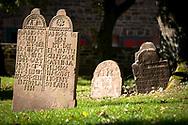 curchyard at the church in Bochum-Stiepel, Bochum, Ruhr Area, Germany.<br /> <br /> Friedhof an der Dorfkirche in  Bochum-Stiepel, Ruhrgebiet, Deutschland.