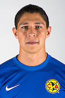 "Mexico League - BBVA Bancomer MX 2014-2015 -<br /> Aguilas - Club de Futbol America / Mexico - <br /> Hugo Alfonso Gonzalez Duran "" Hugo Gonzalez """