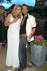 JEMIMA FRENCH and JULIEN MACDONALD  at the Tatler Summer Party in association with Moschino at Home House, 20 Portman Square, London W1 on 29th June 2005.<br /><br />NON EXCLUSIVE - WORLD RIGHTS