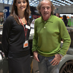 Marguerite and  Jacques Laffite, Geneva Motor Show