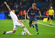 PSG v FC Bayern Munich - 27 Sep 2017