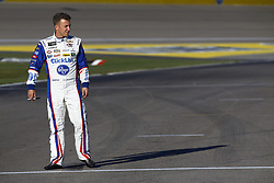 March 2, 2018 - Las Vegas, Nevada, United States of America - March 02, 2018 - Las Vegas, Nevada, USA: AJ Allmendinger (47) hangs out on pit road before qualifying for the Pennzoil 400 at Las Vegas Motor Speedway in Las Vegas, Nevada. (Credit Image: © Chris Owens Asp Inc/ASP via ZUMA Wire)