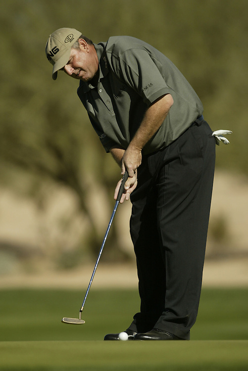 Mark Calcavecchia..2003 Phoenix Open.TPC at Scottsdale, Scottsdale, AZ..January  26, 2003..Photograph by Darren Carroll..X67646