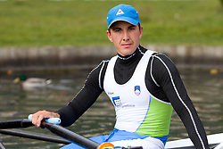 Matevz Malesic during media day of Slovenian National rowing team before World Championships in New Zealand 2010 on October 14, 2010 in Mala Zaka, Bled, Slovenia. (Photo by Vid Ponikvar / Sportida)